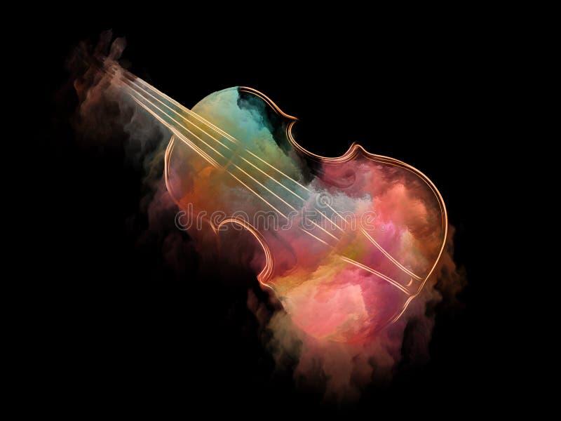 Faites le rêve de violons illustration libre de droits