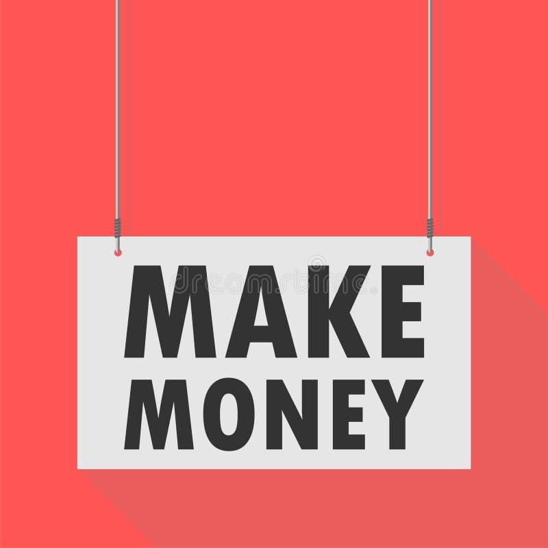 Faites le signe accrochant d'argent illustration libre de droits