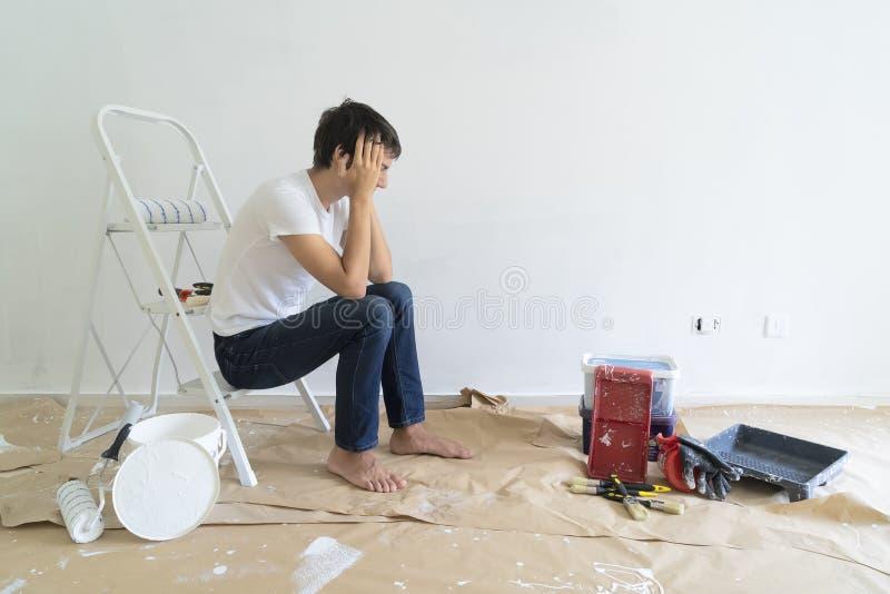 Faites-le vous-même des rénovations de maison photographie stock