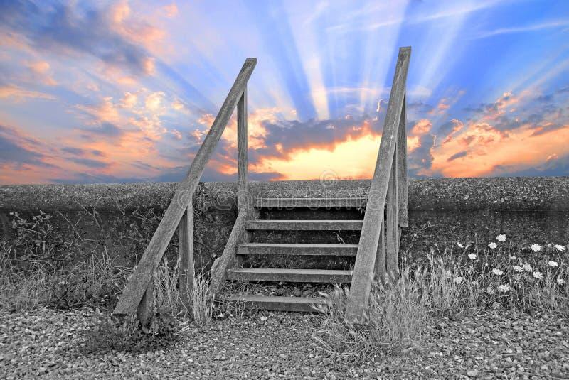 Faites un pas dans un avenir plus lumineux photos stock