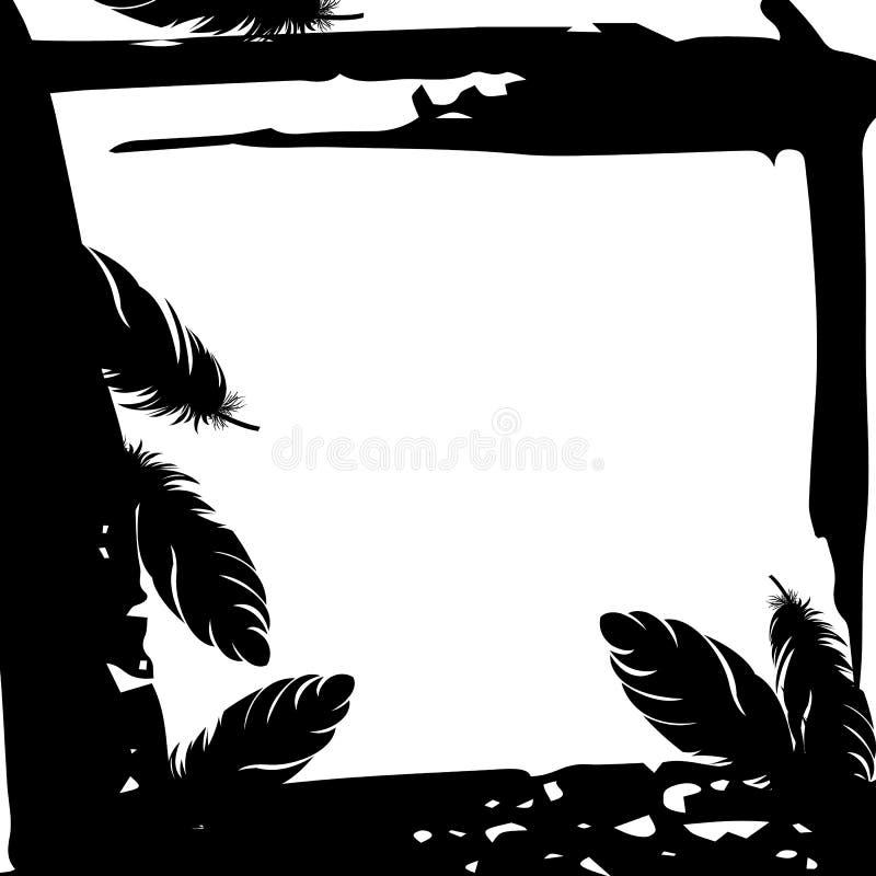 Faites varier le pas du symbole de cannette d'icône d'oiseau d'art d'illustration de stylo illustration de vecteur