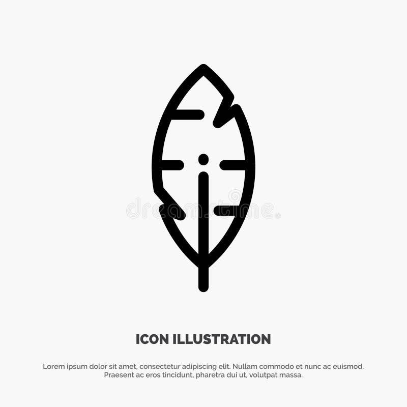 Faites varier le pas, encrez, écrivez de la ligne icône de vecteur illustration de vecteur