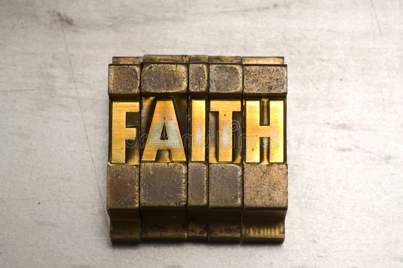 Download Faith stock image. Image of steel, gold, grunge, background - 5342611