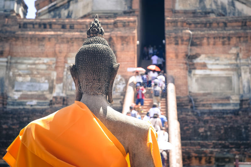 Faith in Buddha royalty free stock images
