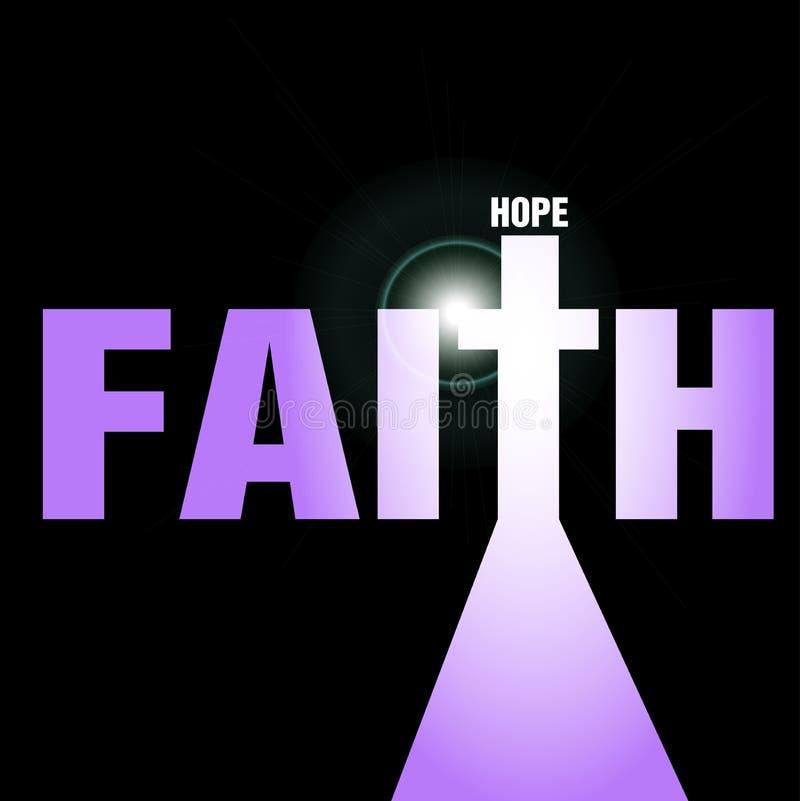 Faith and hope stock photography