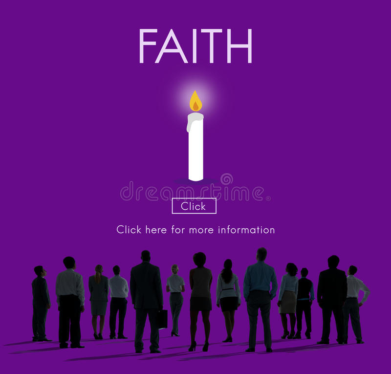 Faith Hope Ideology Loyalty Religion Belief Believe Concept royalty free stock photography