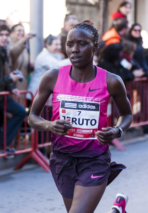 Download Faith Jeruto, Mitja Marato Granollers Editorial Stock Image - Image: 37451204