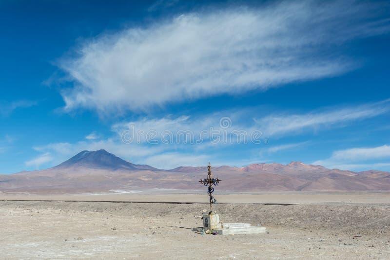 Faith at San Pedro de Atacama stock photo