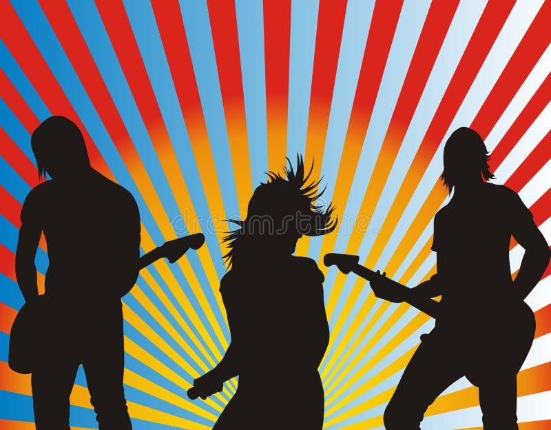 Faixa da música ilustração do vetor