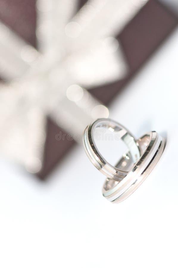 Faixa de casamento imagens de stock royalty free