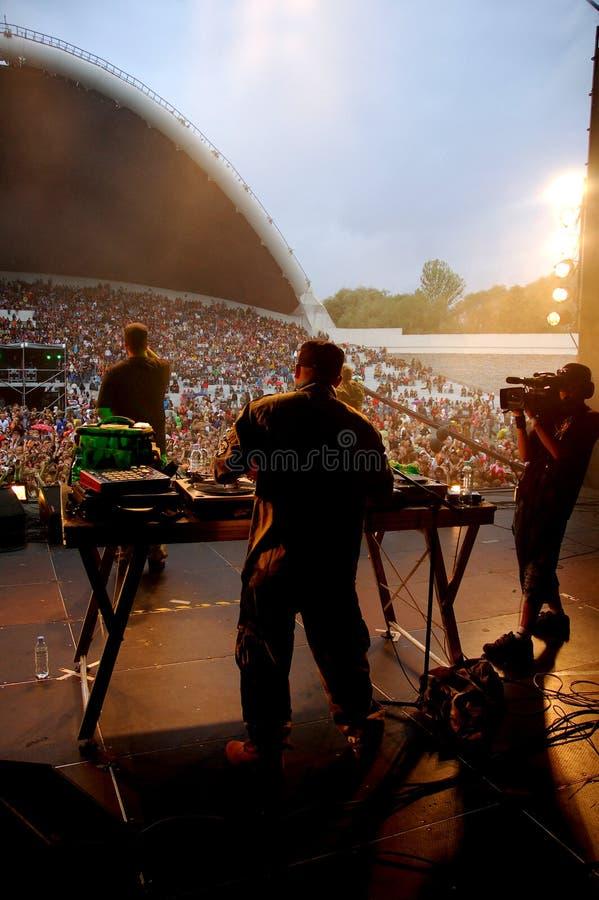 Faixa de Hip-hop fotografia de stock