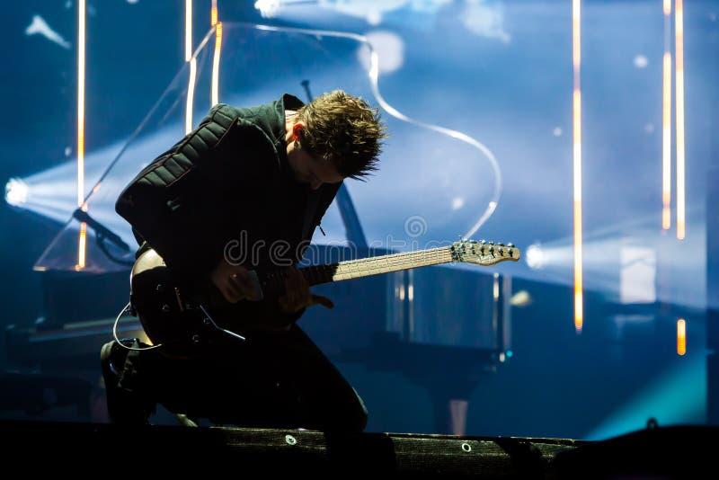 Download Faixa de Muse Rock foto de stock editorial. Imagem de entertainment - 80100703