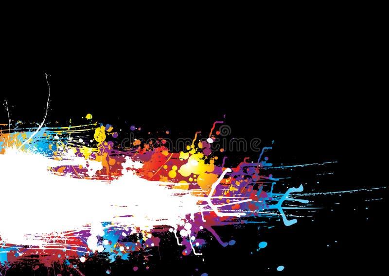 Faixa Do Arrasto Do Arco-íris Imagem de Stock
