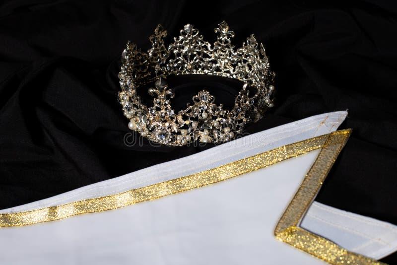 Faixa do vencedor para a senhorita Pageant Beauty Contest fotografia de stock royalty free