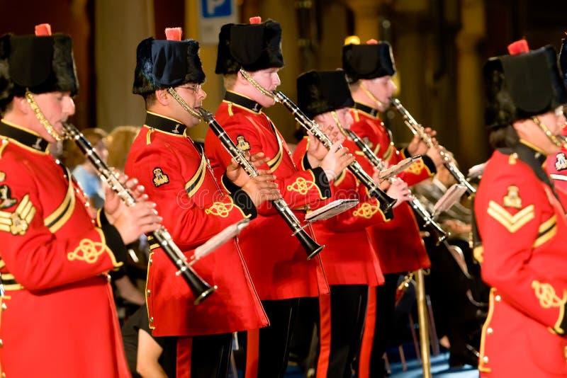 Faixa militar britânica imagens de stock royalty free