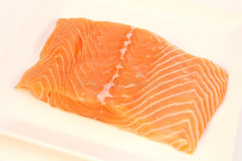 Faixa Salmon imagem de stock
