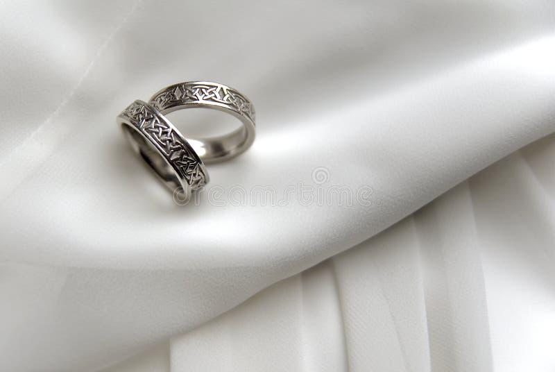 Faixas de casamento 1 foto de stock royalty free