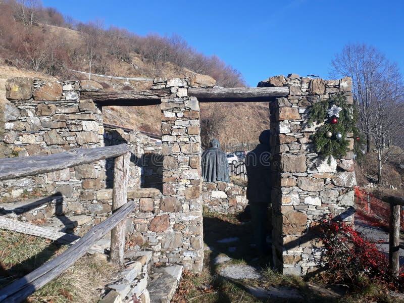 Faja, Italia: área parcial de la defensa fotos de archivo