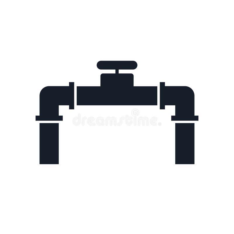 Fajczany ikona wektoru znak i symbol odizolowywający na białym tle, Fajczany logo pojęcie royalty ilustracja