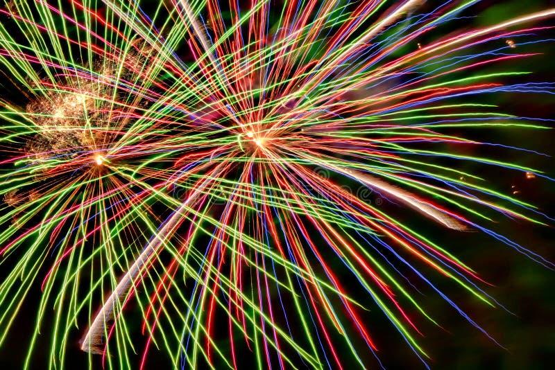 Fajerwerk pomoc świętować nowego roku zdjęcia royalty free