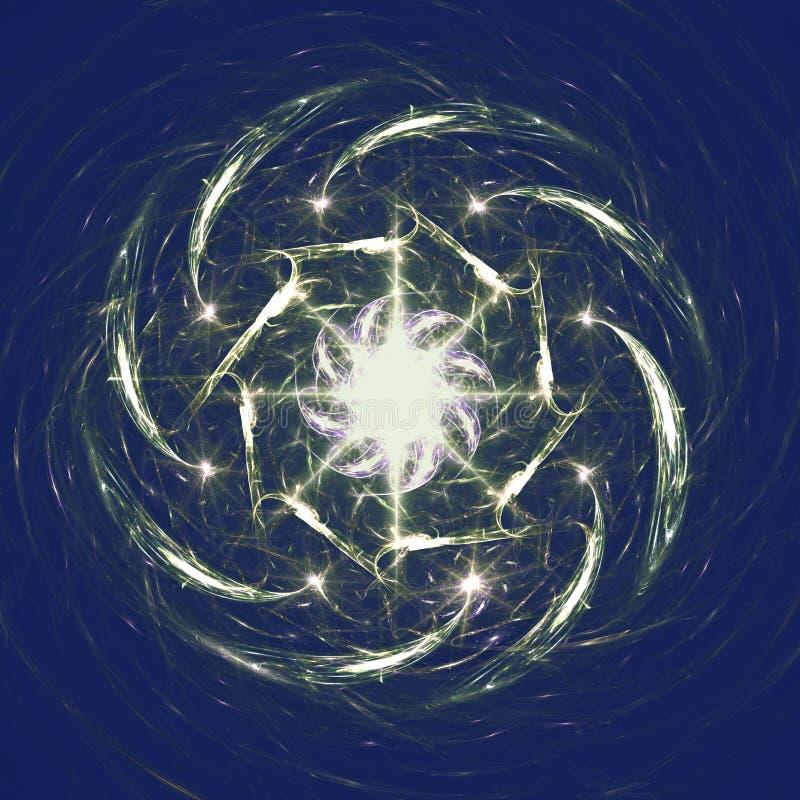 fajerwerki ilustracja wektor