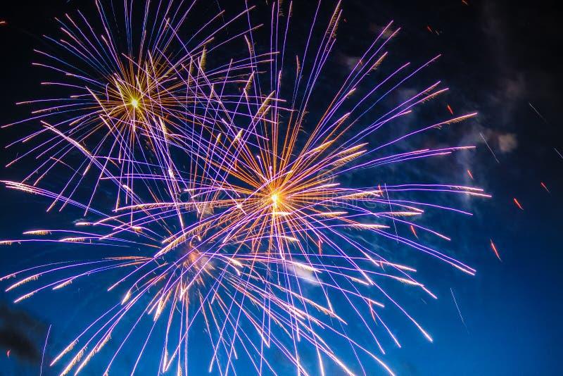 Fajerwerku świętowanie obraz royalty free