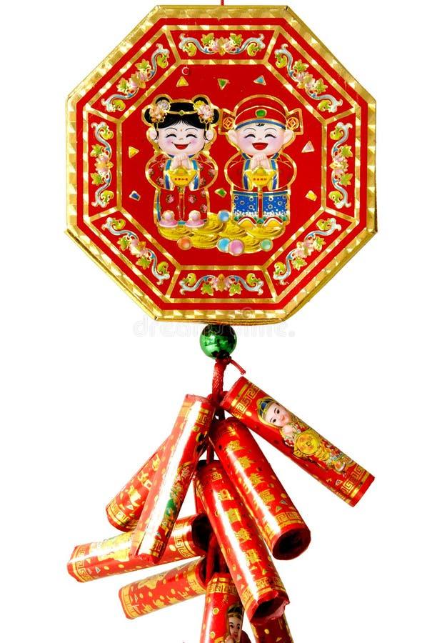 fajerwerku chiński nowy rok zdjęcia royalty free