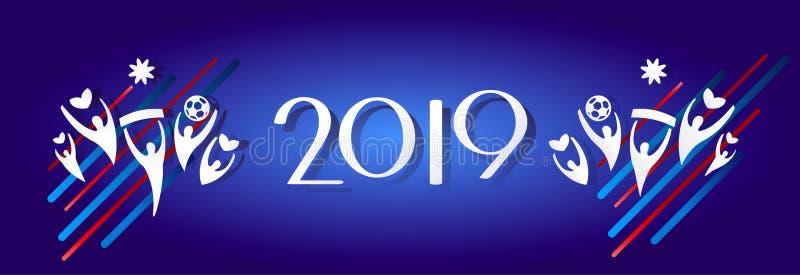 2019 fajerwerku festiwalu bożych narodzeń royalty ilustracja