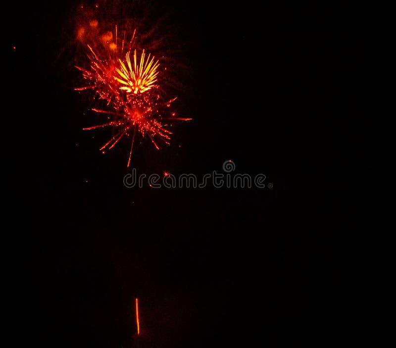 Fajerwerku pokaz fotografia royalty free