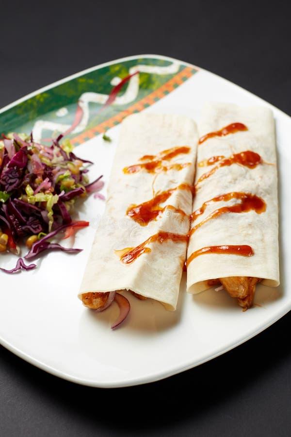 fajita Mexikanische Nahrung Mexikanische Küche lizenzfreies stockfoto