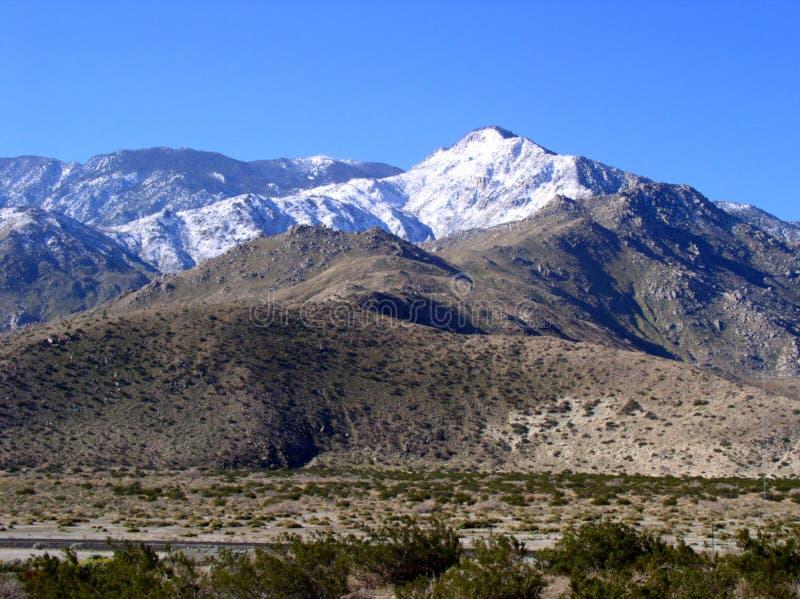 fajne chrupiąca lotnicze mountain zdjęcie stock