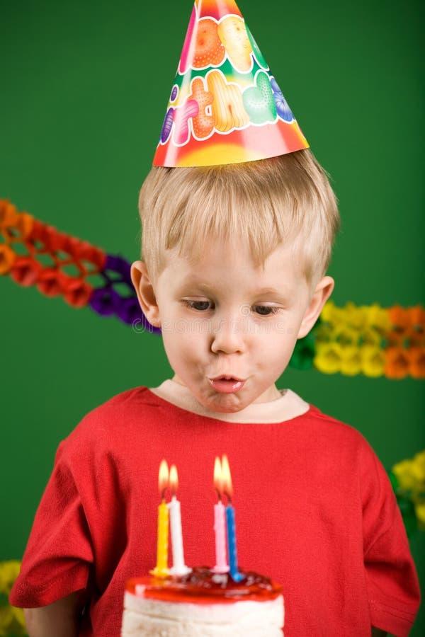 fajne urodziny, obrazy stock