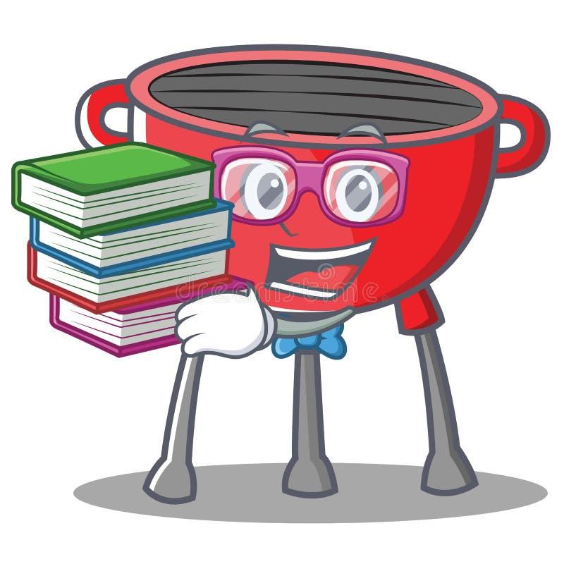 Fajtłapa grilla grilla postać z kreskówki ilustracja wektor