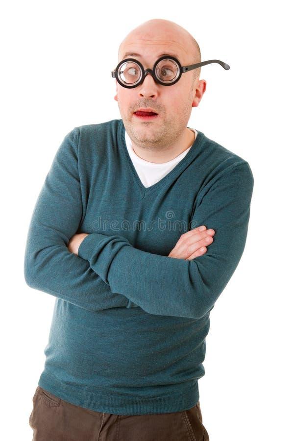 Download Fajtłapa mężczyzna zdjęcie stock. Obraz złożonej z ekscentryk - 57663120