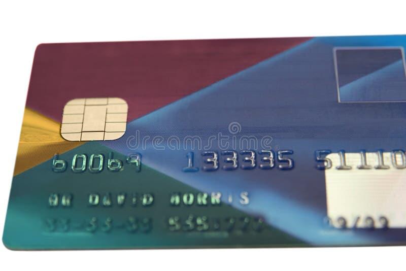 Fake bank card 4 royalty free stock photography