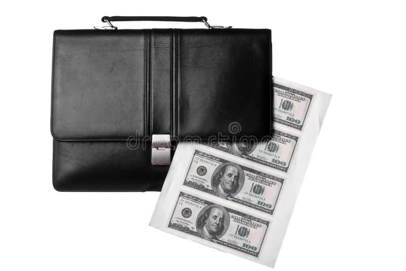 Fake dollars royalty free stock image