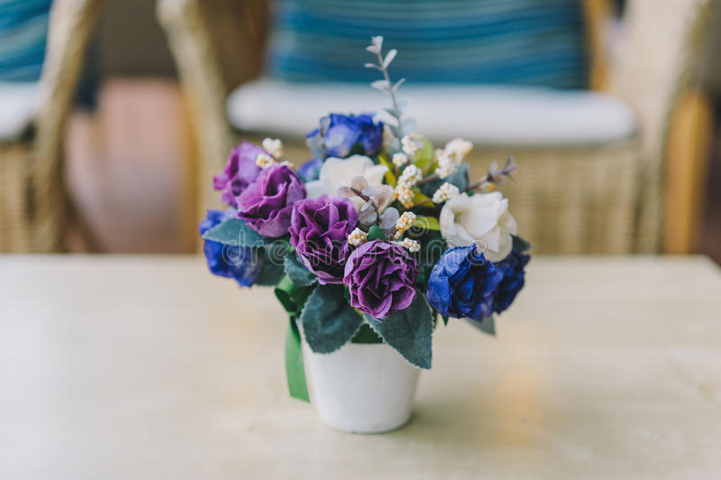 Fake flower royalty free stock images
