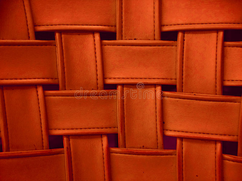 Download Fake Leather, Woven In A Pattern Stock Image - Image: 10505767