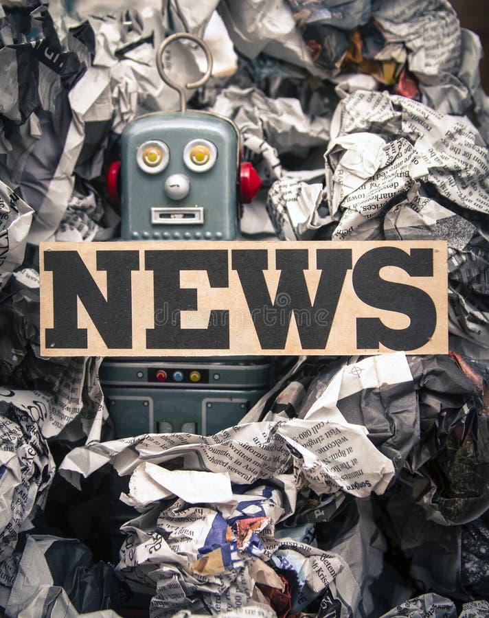 Fake news royalty free stock photography