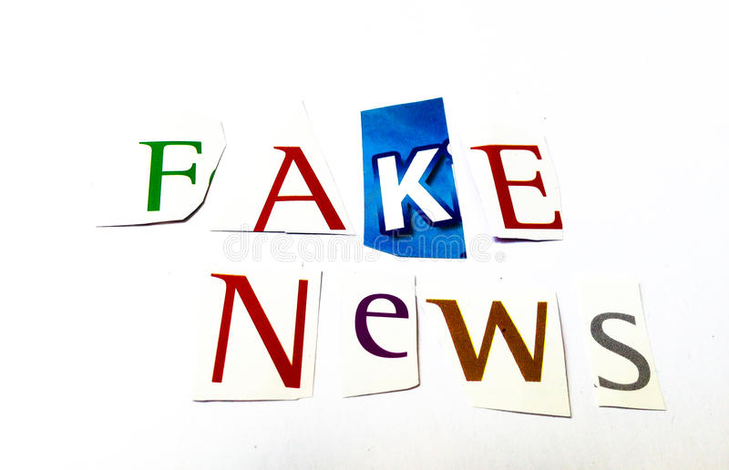 Fake news cutout words collage of mixed magazine letters with download fake news cutout words collage of mixed magazine letters with white background stock photo publicscrutiny Choice Image