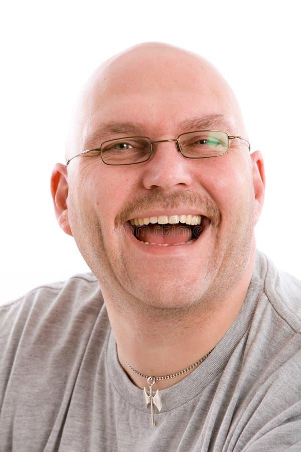 Fake smile royalty free stock image