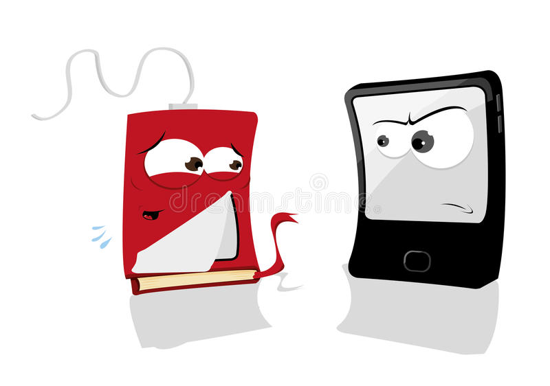 Download Fake Tablet stock vector. Image of isolated, design, hardcover - 27393076