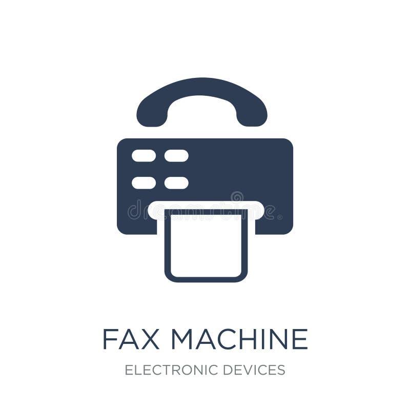 Faks maszyny ikona  royalty ilustracja