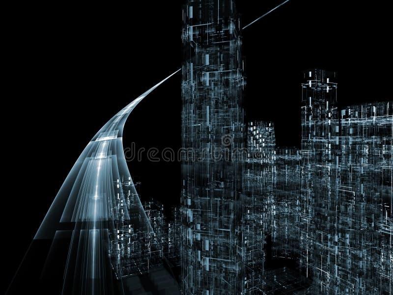 faktisk huvudväg vektor illustrationer