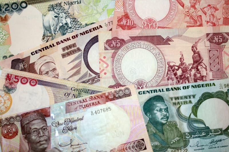 fakturerar gammala olika nigeria arkivfoton