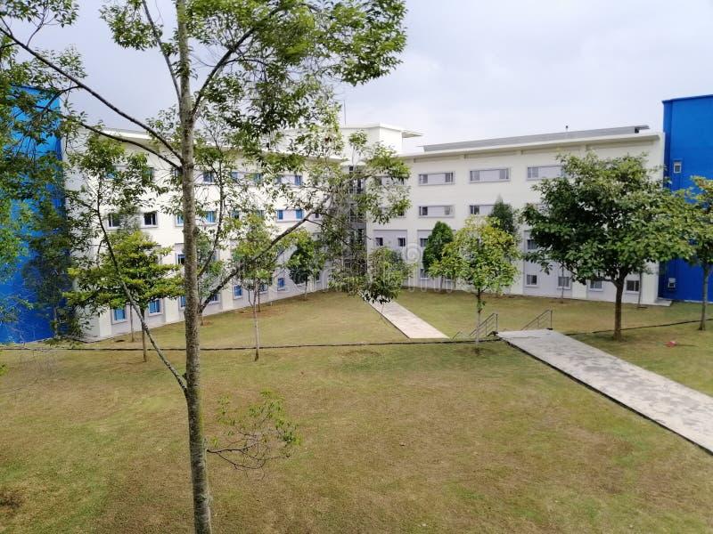 Fakultet av elektronisk och datorteknik UTeM royaltyfri foto
