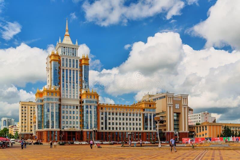 Fakultet prawo Ogarev Mordovia stanu uniwersytet zdjęcie royalty free
