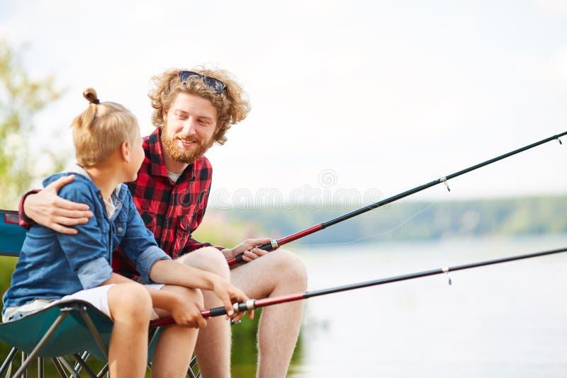 Fala ao filho fotografia de stock royalty free