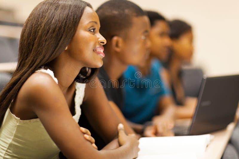 Fala dos estudantes universitários fotos de stock