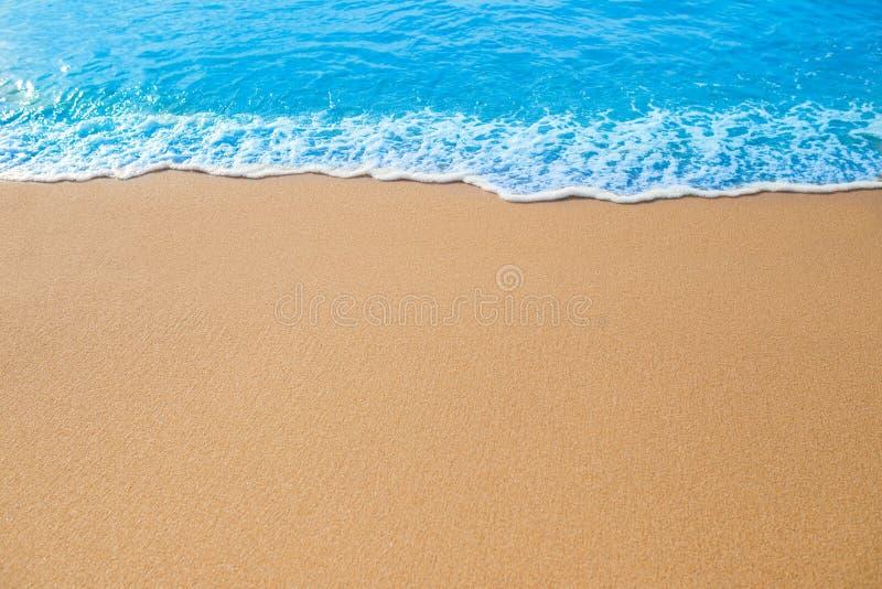 Fala na piasku zdjęcia royalty free